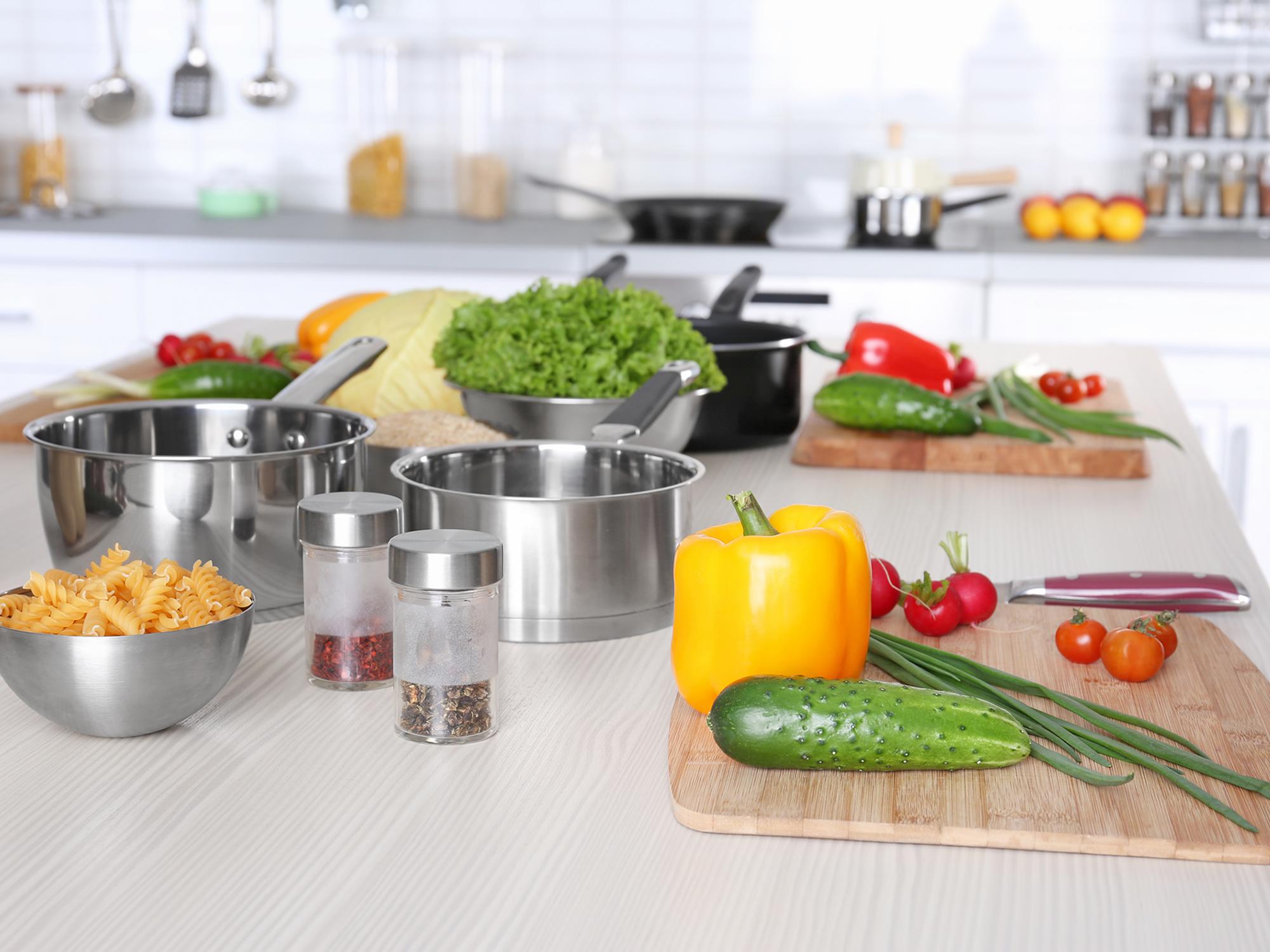 healthy kitchen makeover