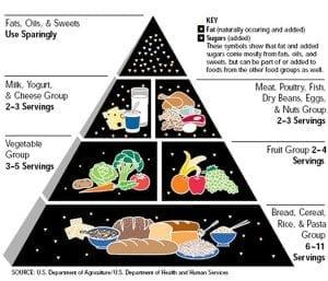 old food pyramid was wrong