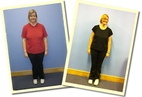 Jo lost 3 stone while personal training with active nrg