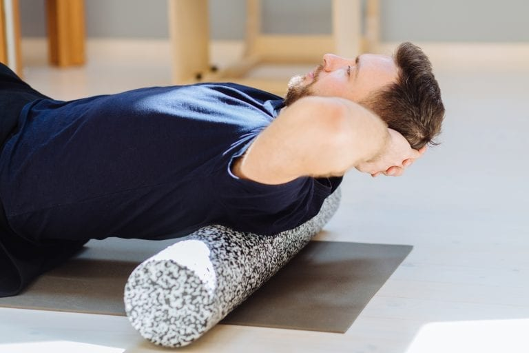 recovery from injury with a foam roller