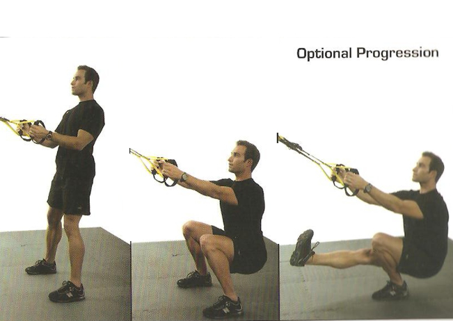 TRX home workout